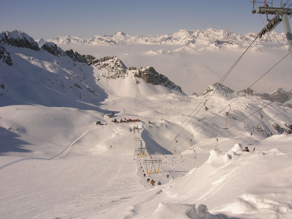 PASSO DEL TONALE – In allenamento la nazionale di sci di fondo